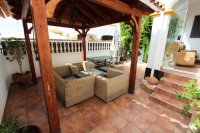 RVS469Q. 3 BED, 2 BATH, QUAD VILLA, TOP QUALITY CONDITION. VISTABELLA, ALICANTE COSTA BLANCA SPAIN
