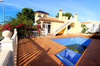 Large 3 bed, 2 bath detached villa with pool for refurbishment